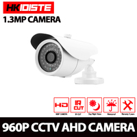 HKIXDISTE High Quality AHD Camera Color CCD 2500TVL 1 3MP 36 IR LED Night Vision Waterproof
