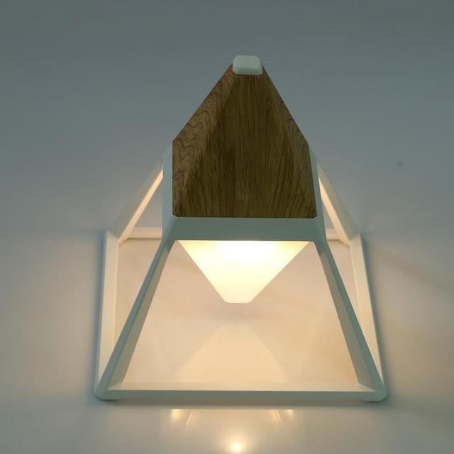 Simple table lamp geometric shape table lamps bedroom bedside small simple table lamp geometric shape table lamps bedroom bedside small lamp home decoration touch sensor led aloadofball Images