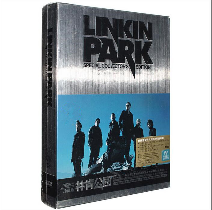 ФОТО Free Shipping; Lincoln Park Linkin Park Album Special Commemorative Collector's Edition 4CD Rock Music Album 30 classic poster w