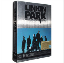 Free Shipping; Lincoln Park Linkin Park Album Special Commemorative Collector's Edition 4CD Rock Music Album 30 classic poster w