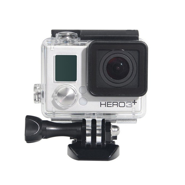 Suptig For Go pro Accessories For Gopro Waterproof Housing Case Mount Hero 3 plus for Gopro Hero3+ 3 4 Camera Mounting