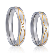 vintage engagement ring set titanium couple love rings pair jewellery 2016 never fade anillos joias