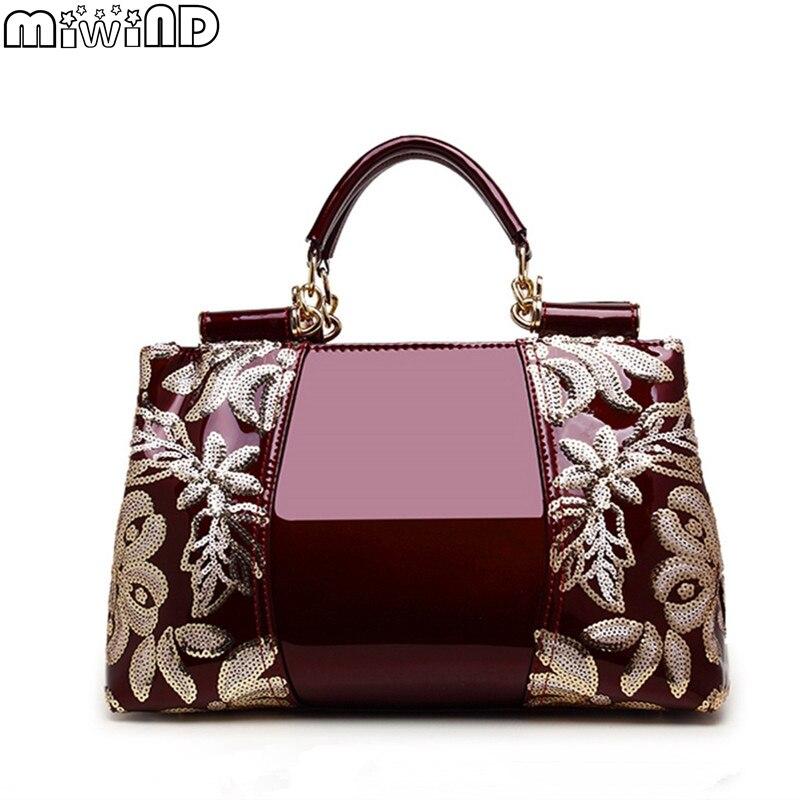 sacolas do homensageiro bolsa feminina Material Principal : Couro Genuíno