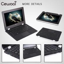 Cewaal 2 in 1 Ultra Thin Tablet PC Notebook Computer Windows 10 Intel Celeron 4GB RAM+32GB ROM Bluetooth 4.0 1920 * 1080 Laptop