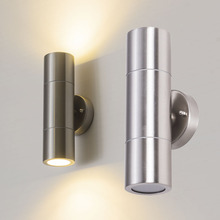 indoor home wall lamp light with GU10 led 201  stainless steel lighting