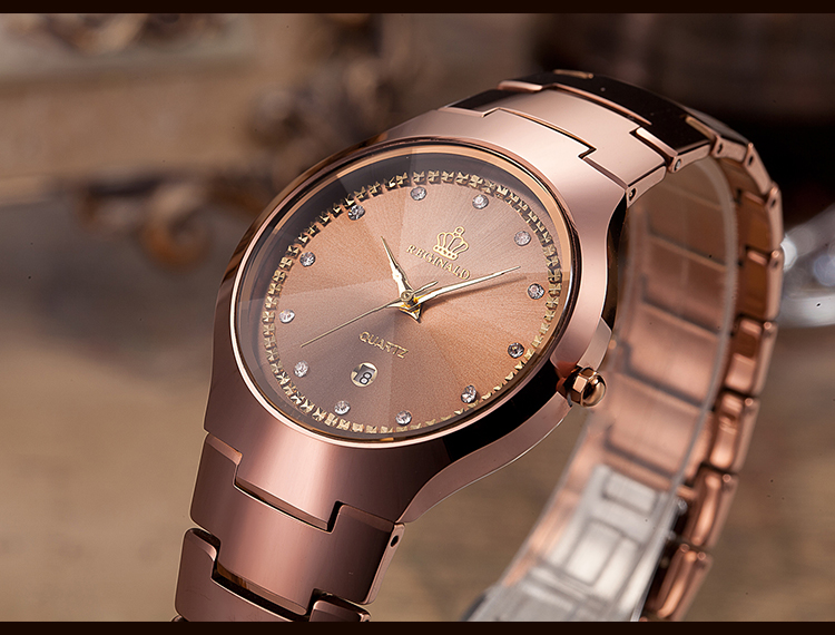 de pulso de quartzo montres femmes dames horloge