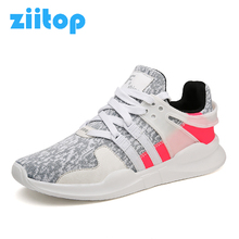 ZIITOP Running Shoes For Men Flat Shoes Zapatillas Hombre Deportiva Sport Shoes Men Athletic Lace Up Sneakers Men EQT Support