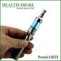 Big-продажи Protank 2 комплект красочные электронные сигареты Protank 2 atomzier + эго-т аккумулятор с стартер молния бесплатная доставка