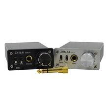 Casque Amplificateur ZHILAI H9 DC 24 V Numérique HIFI Casque Amp TPA6120A2 Puce Adaptateur Plug 6.35mm Alimentation Deux Entrée Audio