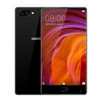 100% Оригинал DOOGEE MIX Смартфон Android 7,0 две камеры 5,5 дюймов AMOLED, Процессор MTK Helio P25 Octa Core 6 ГБ + 64 ГБ LTE 3380 мА/ч, 16.0MP