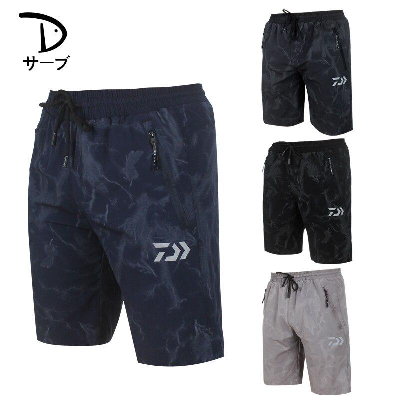 2018 NUOVO pantaloni di Pesca DAIWA DAWA Traspirante Anti zanzara all'aperto di estate uomo Per Il Tempo Libero pantaloncini Protezione Solare DAIWAS Trasporto libero