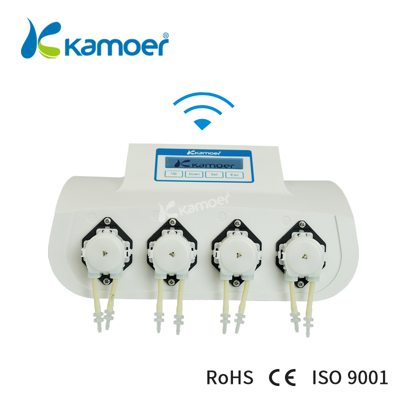 Kamoer X4 mini peristaltic pump aquarium dosing pump micro water pump / fish tank / with wifi control цена