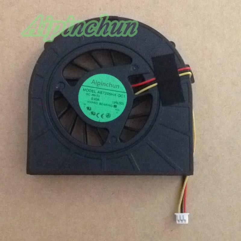 Aipinchun New CPU Cooling Fan For Dell inspiron 15R N5010 M5010 Cooler Radiators Laptop Fan original new laptop cpu heatsink with cooler fan for dell alienware m15x avc bnta0815r5h dc 5v 0 5a 5 5cfm dp n pr2h1 0pr2h1