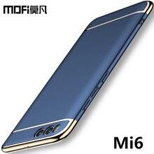 Xiaomi ми-6 случае MOFi Protecter Роскошные Жесткий Назад Случаи Пластик Матовый PC Полное Покрытие саппу fundas для xiaomi 6 m6 ми 6