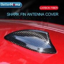 ملحقات تزيين السيارة من ألياف الكربون لهوائي زعنفة القرش لـ BMW E46 E90 E92 F20 F30 F10 F34 G30 M2 M3 M4 F15 F16 X5M X6M