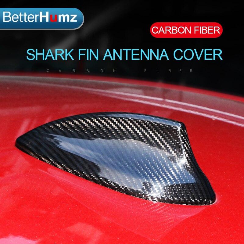 New Carbon Fiber Auto Roof Decor Antenna Shark Fin BMW M3 M4 F80 F82 For 2015+