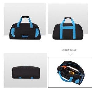 Image 4 - Sıcak spor çantası eğitim spor çantaları erkek kadın spor dayanıklı çok fonksiyonlu el çantaları açık spor kol çantası çantası erkek
