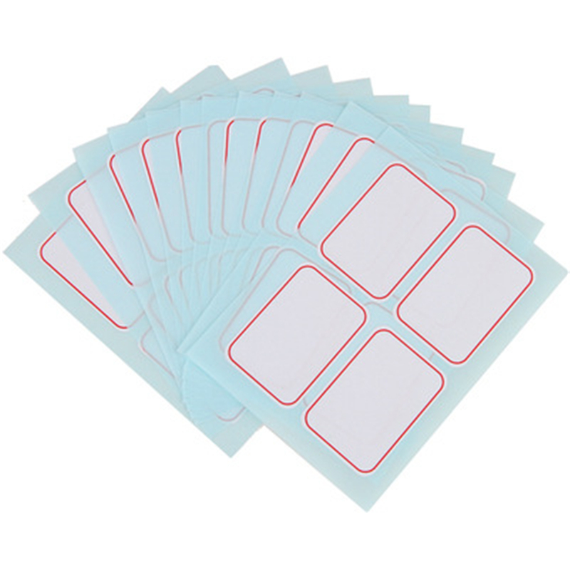 DL 6417 labelling from sticky paper (35x50mm) can be written Teaching equipment student stationery Exquisite small gift