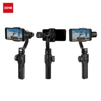 Zhiyun Smooth 4 3 Axis Handheld Gimbal Stabilizer Microphone Accesorries For IPhone X 8 7 Plus