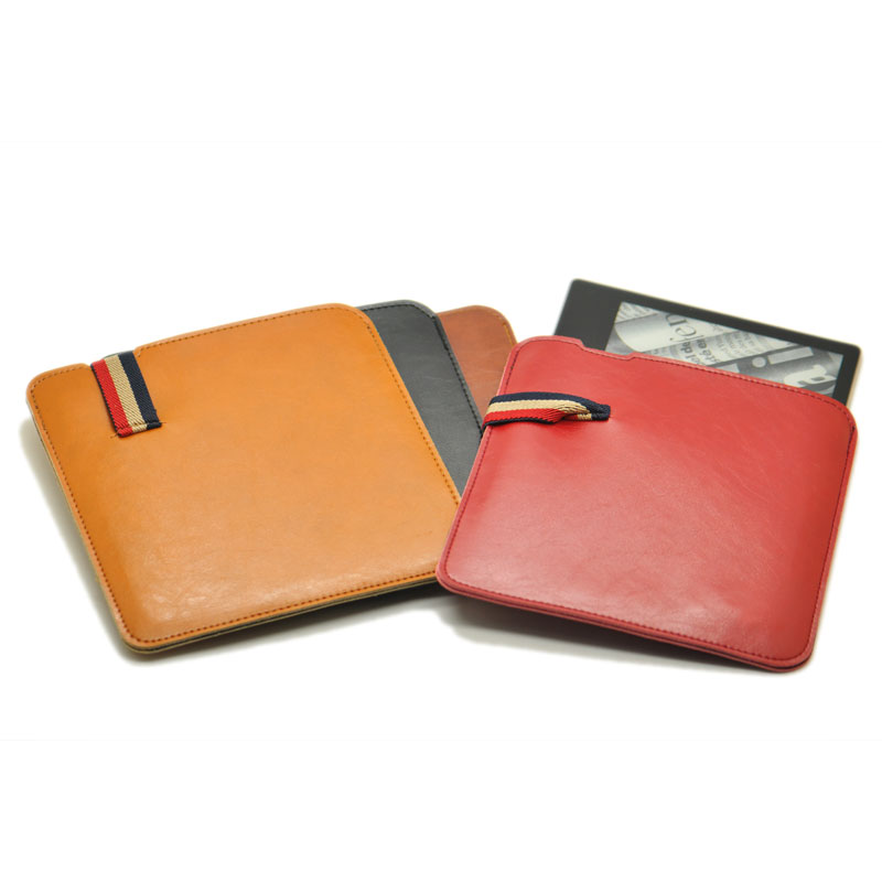 Anti falling style super slim sleeve pouch cover,microfiber leather E-Book sleeve case for Amazon Kindle Oasis 2 7inch