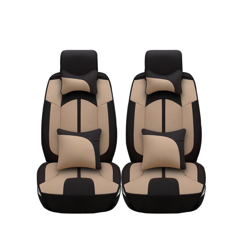 Linen car seat covers For Volkswagen vw passat b5 b6 b7 polo 4 5 6 7 golf tiguan jetta touareg car accessories car styling linen car seat covers for volkswagen vw passat b5 b6 b7 polo 4 5 6 7 golf tiguan jetta touareg car accessories car styling