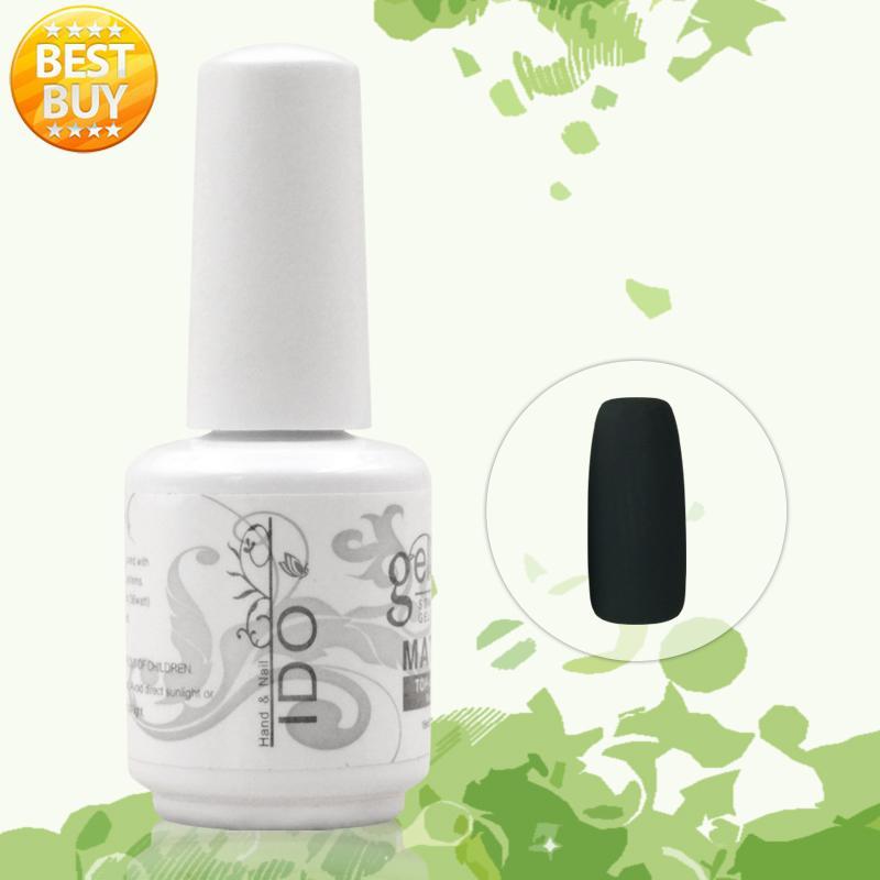 6pcs Free Shipping Uv soak off gel polish French Matte Top IDO gel coat Uv lamp Varnishes gel nail uv gel polish manicure