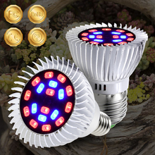 CanLing E27 LED Phyto Lamp E14 Full Spectrum Fitolampy 20W Indoor Plant Grow Tent Box Light 220V Seed Bulb