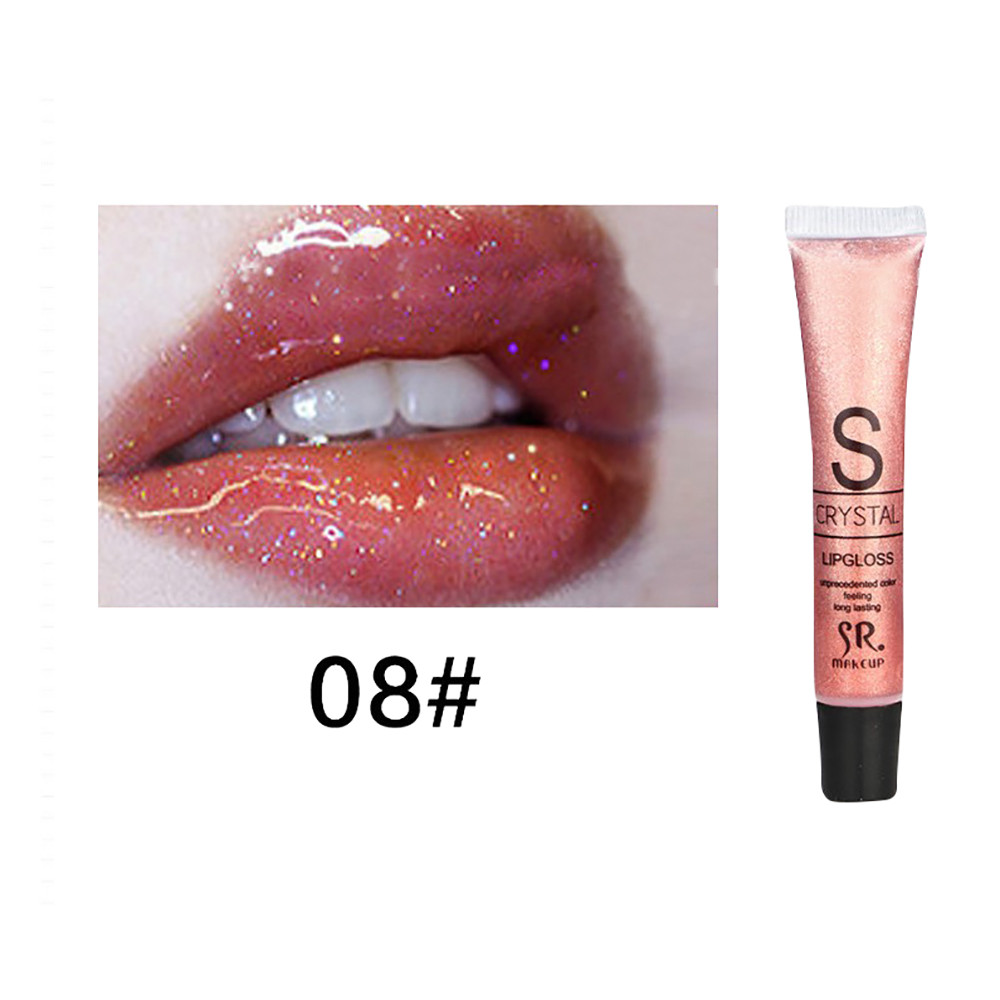 11 Colors Long Lasting Lip Gloss Makeup Candy Color Lip Gloss Waterproof Glitter Liquid Lipstick batons matte lquido(China)