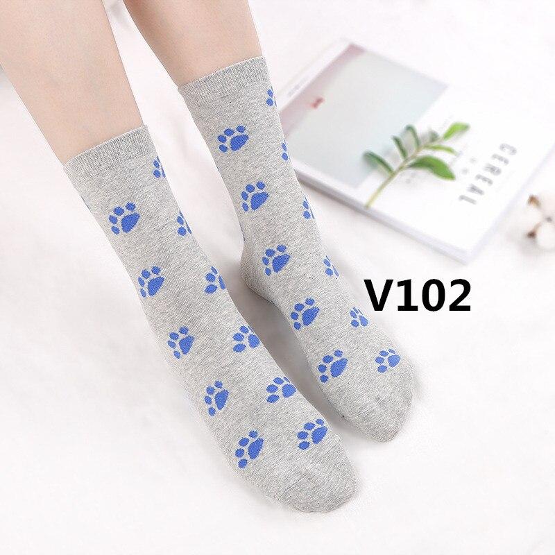 2018 nouveau arrivent mode Femmes chaussettes haute qualité 10 pcs/ensemble V102