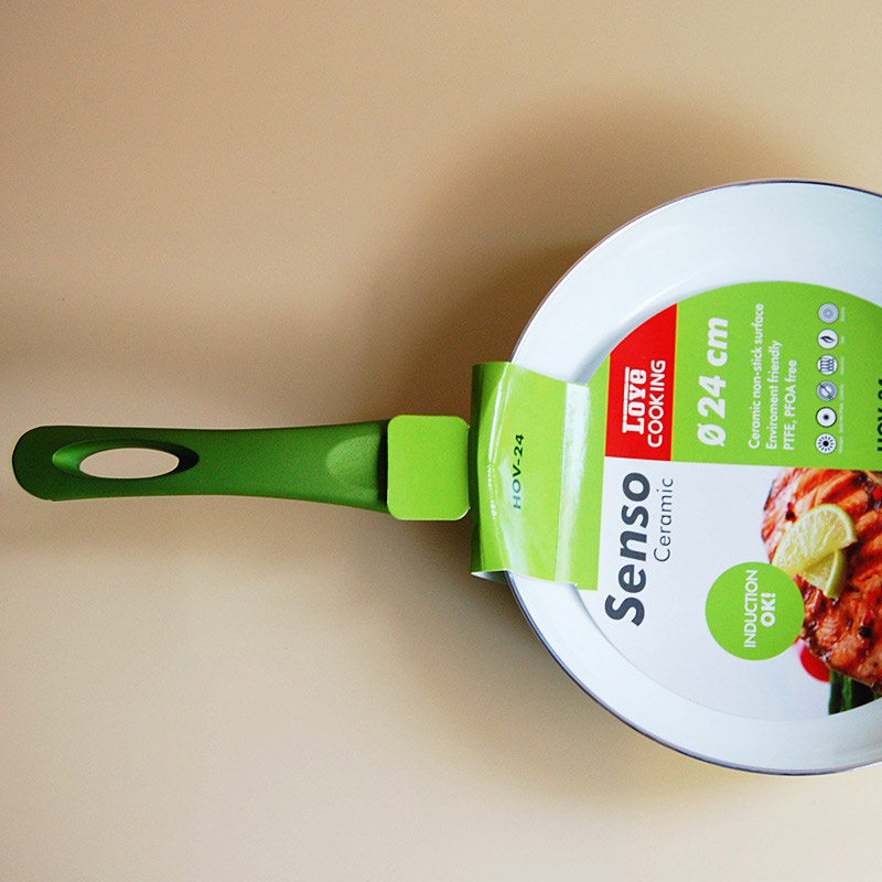 Nanoscale Ceramic Coating Non-Stick Copper Frying Pan Oven & Dishwasher Safe 2