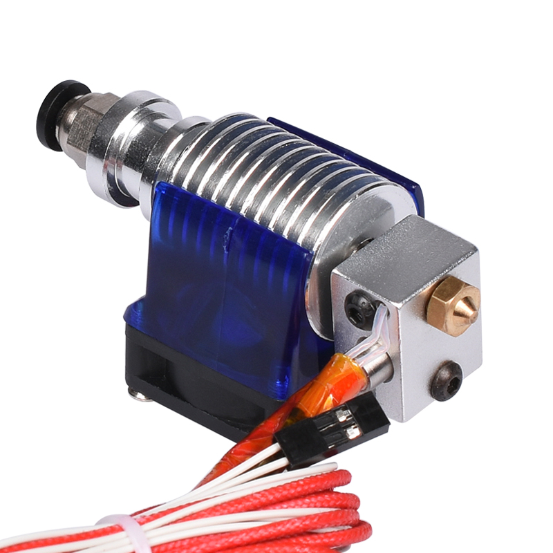 3D V6 J-head hotend long distance with Cooling Fan 1.75mm 3mm Bowden Filament Wade Extruder Wade Extruder for 3d printer kossel 3d printer accessory reprap j head mkiv mkv hotend nozzle wade bowden extruder for choice top quality free shipping