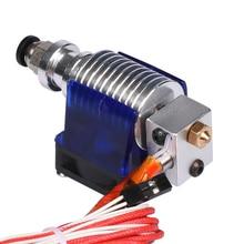 3D V6 J-головки hotend длинные расстояния с охлаждающий вентилятор 1.75 мм 3 мм Боуден нити Уэйд экструдер Уэйд экструдер для 3D принтер коссель