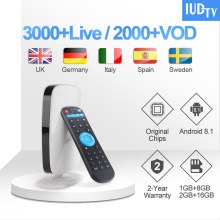 1 Year IUDTV Code Leadcool R9 UK Swedish IPTV Subscription RK3229 Android TV Box Turkish Arabic Germany Spain Greece Italy