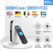 1 Year IUDTV Code Leadcool R9 UK Swedish IPTV Subscription RK3229 Android TV Box Turkish Arabic Germany Spain Greece IPTV Italy цена и фото
