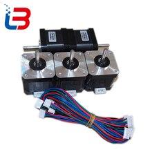 Nema 17 двигатель для 3D принтера SL42STH40-1684A 1.8A 78Oz-in 42 Шаговый двигатель TRONXY принтер аксессуары DIY комплект для части