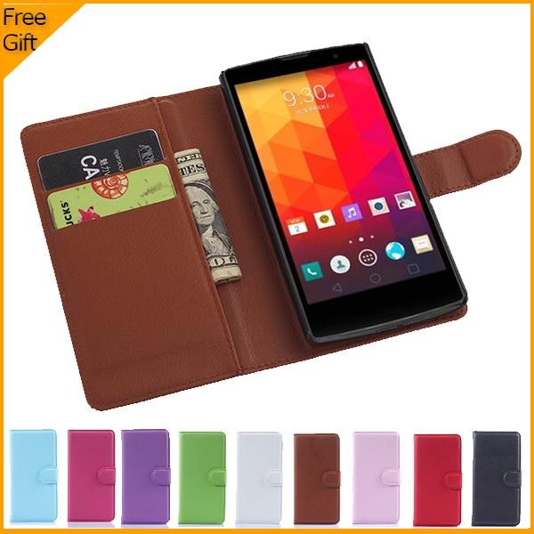 Noul lux original PU piele flip Husa pentru LG Magna H502F H500F - Accesorii și piese pentru telefoane mobile