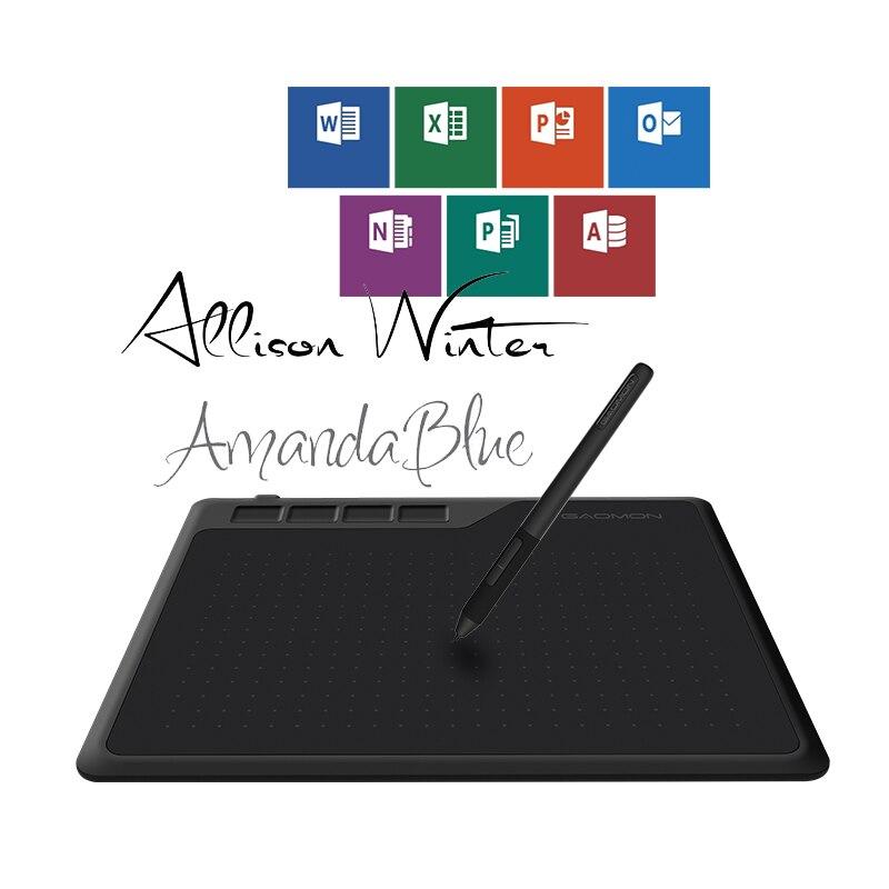 Image 4 - GAOMON S620 6,5x4 дюйма Цифровая ручка планшет аниме графический  планшет для рисования и игр OSU с 8192 уровнями ручка без батареи-in  Цифровой планшеты from Компьютеры и офисная техника on AliExpress
