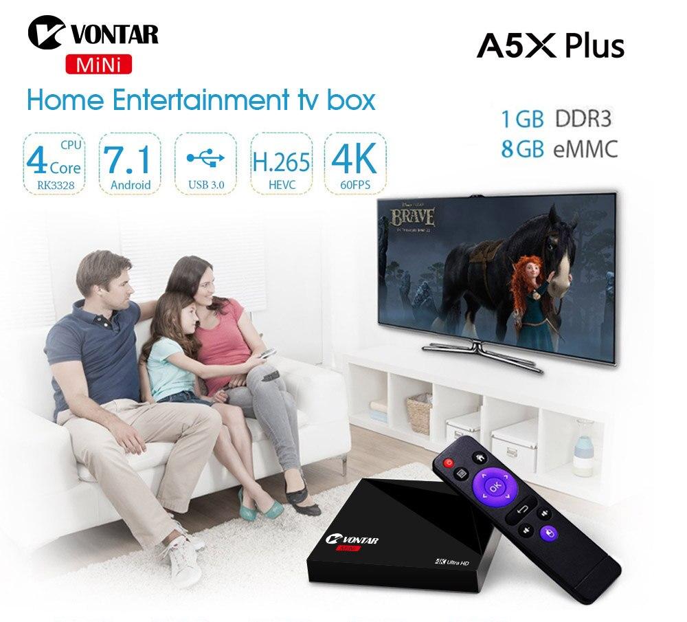 Mini Android 7.1 Nougat VONTAR A5X Plus RK3328 Rockchip TV BOX Mini Android 7.1 Nougat VONTAR A5X Plus RK3328 Rockchip TV BOX HTB1 RpOQpXXXXaoXXXXq6xXFXXXv