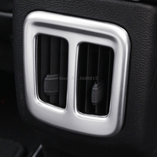 For Jeep Compass Second GE 2017 2018 2019 Inner Accessories ABS Matte Rear Back Air Vent