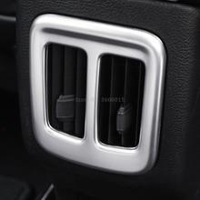 Для Jeep компасы второй GE 2017 внутренние аксессуары 2019 2018 ABS матовая задняя Air Vent Outlet Чехлы для мангала отделка под давлением автомобиля стиль