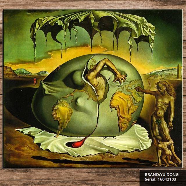 Salvador dali naturaleza muerta pintura al leo de dibujo arte aerosol sin enmarcar lienzo mano - Enmarcar lienzo ...