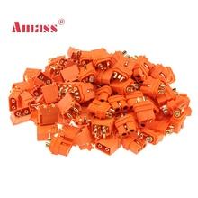 10 пар Amass XT60I/XT60H/XT30U Пуля разъем обновленный XT60I-Female и XT60IPW-Male позолоченный для Rc частей