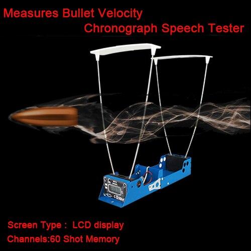 Tactique ÉCRAN LCD Mesures Balle Vitesse Tir Fonction D'enregistrement Chronographe Testeur de Vitesse Pour Airsoft Chasse HS35-0005