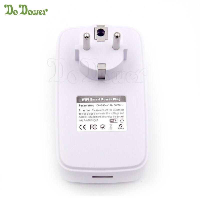ZB Hot Sale Smart Home 16A Timer EU US Wifi Power Socket Plug Smart Phone Wireless