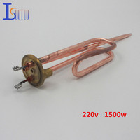 265mm 50mm Cap 220v 750w Electric Heating Tube With Temperature Control Hole Heating Element Boiler Stainless