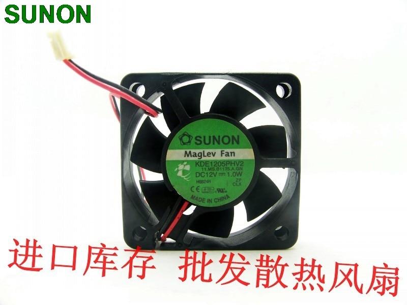 1PC Fan For SUNON KDE1206PHV2 12V 1.0W