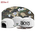 Nova C & S Japão tóquio flores de cerejeira gorras hip hop cap Snapback rua tendência da moda das mulheres dos homens ajustáveis cottom chapéu de basebol