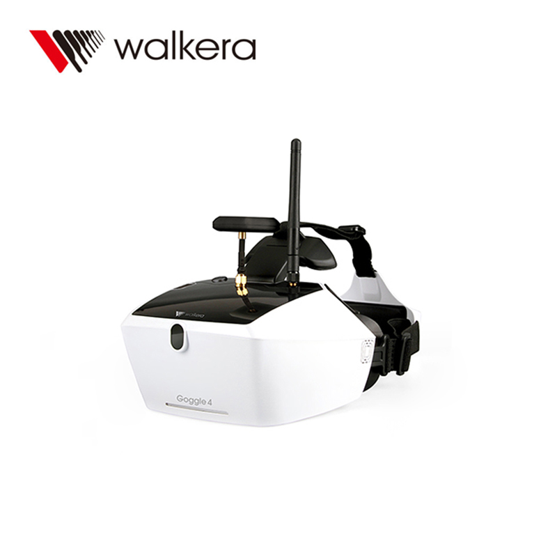 Walkera Goggle 4 FPV Glasses with 5 inch HD Large Screen Racing Drone Aerial 3D Glasses for FPV Drone with Camera 100% original new runcam 2 fpv hd camera av out fpv camera runcam2 1080p 120 angle wifi for walkera qav250 rc racing drone