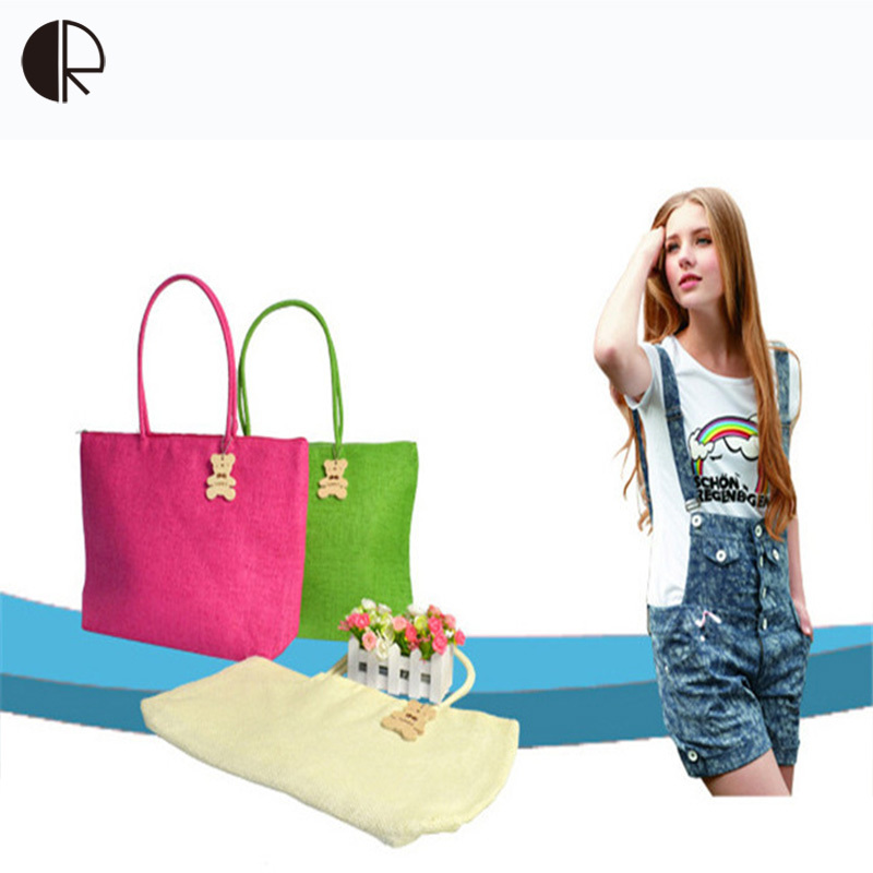 Hot Sale Women Summer Style Simple Wild Straw Handbag Casual Woven Package Weaving Shoulder Big Natural Big Beach Bag BS182 hot sale ladies classic handbag big volume casual bag for women fashionable