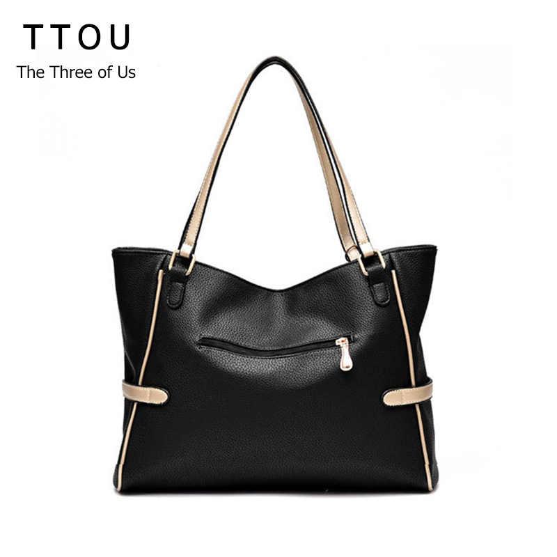 b6083f0c7e6c ... TTOU Для женщин кисточкой Повседневное сумка элегантная женская сумка  из искусственной кожи Сумка Большая Ёмкость Сумочка ...